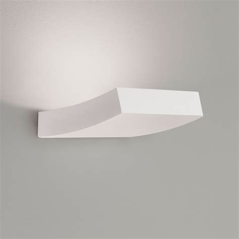astro naxos plaster led wall light at uk electrical supplies
