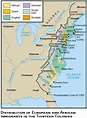 13 Colonies And Causes Leading To The American Revoltuion ...