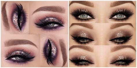 Красивый вечерний макияж глаз 20202021 фото уроки особенности макияжа под цвет глаз