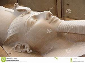 The Colossus Of Ramses II In Memphis, Egypt. Stock ...