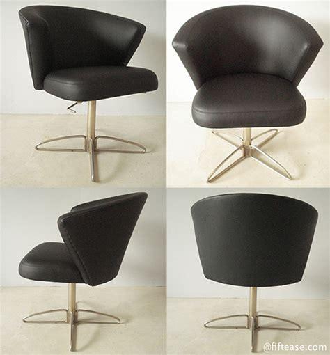 fauteuil de bureau noir geneviève dangles et christian defrance fauteuil de