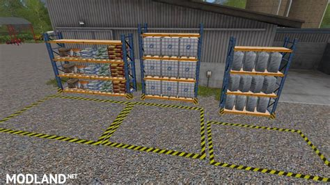 placeable refill storagerack   mod farming simulator