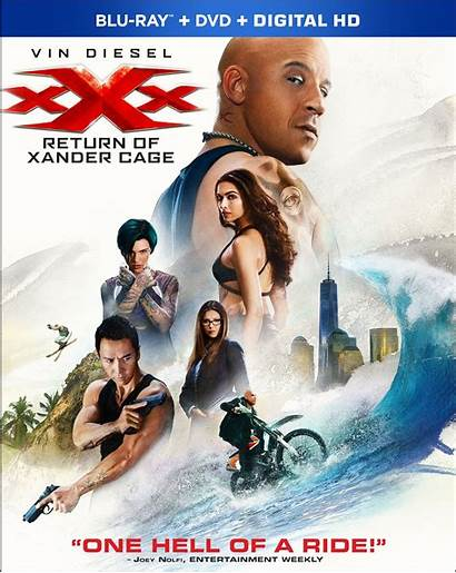 Xxx Return Cage Xander Dvd Covers Movies