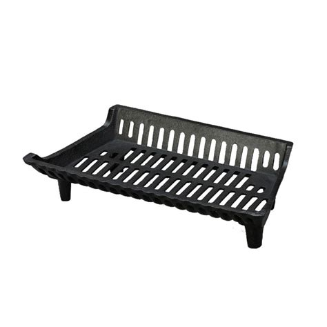 fireplace log grate pleasant hearth 22 in fireplace grate for electric