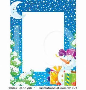 Snowman Border Clip Art (14+)