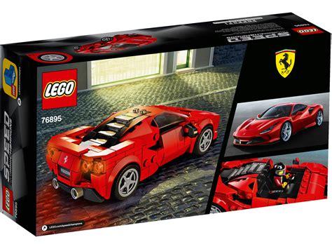 Der 76895 ferrari f8 triturbo ist teil dieser neuen speed champions serie. LEGO Speed Champions Ferrari F8 Tributo 76895 ...