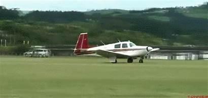 Landing Gifs Plane Giphy Geplaatst Nies Ton
