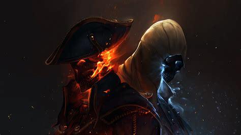 hd wallpaper assassins creed black