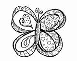 Butterfly Coloring Pages Doodle Easter Happy Printable Adult Coloring4free Butterflies Colouring Spring Adults Justpaintitblog Colorful Flowers Christmas Flower Intricate sketch template