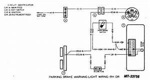 Parking Brake Warning Light Wiring