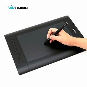 Free Shipping Hot Sale Huion Digital Pen Tablets H610 Pro 10 U0026quot  Graphics Tablet Painting Tablets