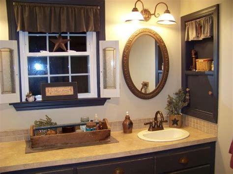 Country Bathroom Decorating Ideas by Primitive Country Bathrooms Country Primitive