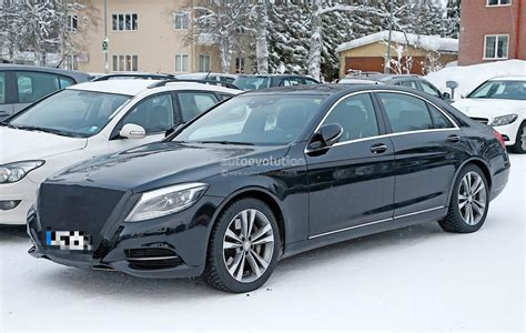 2018 Mercedesbenz Sclass Facelift Emerges With Covered