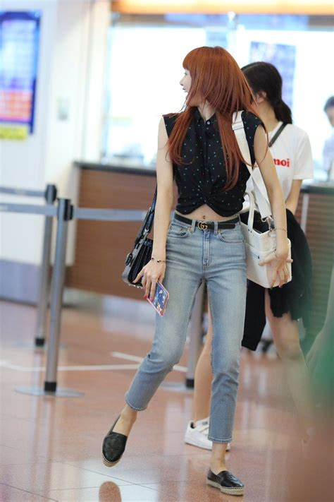 lisas airport fashion allkpop forums