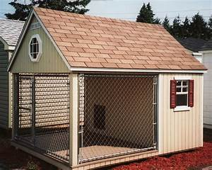 chenil pour chien With outdoor dog house ideas