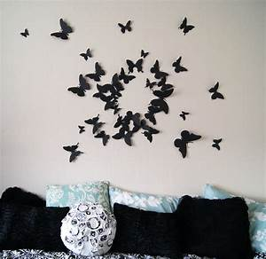 3d scanner image 3d butterfly wall art for Butterfly wall art