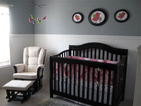 Grey With White Beadboard  Nursery  Pinterest Grey