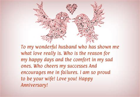 happy anniversary message  husband