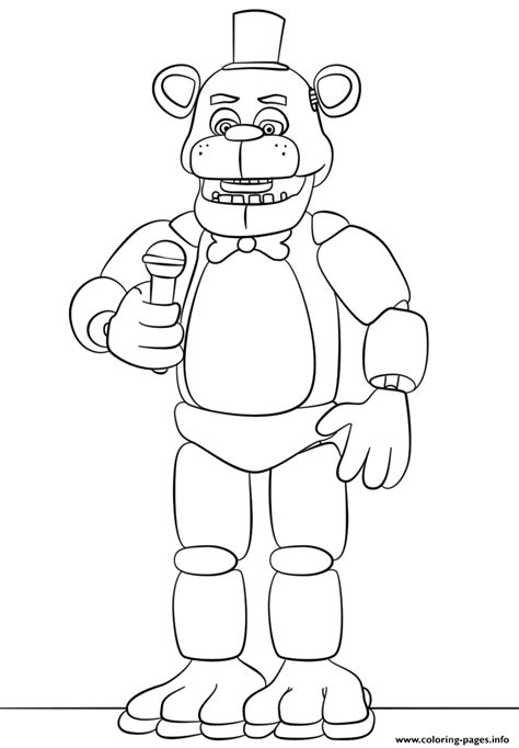 Freddy coloring pages | Coloring pages to download and print | 682x474