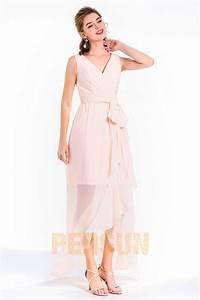 robe de soiree rose pale courte devant longue derriere With robe rose pale longue
