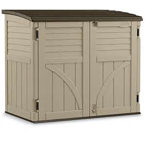 suncast horizontal storage shed 53 wx32 1 2 dx45 1 2 h home garden