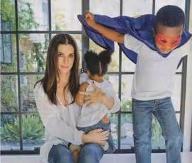 Sandra Bullock adopts little sister for big brother Louis ...