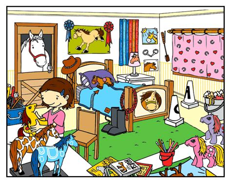 Room Clipart Tidy  Pencil And In Color Room Clipart Tidy