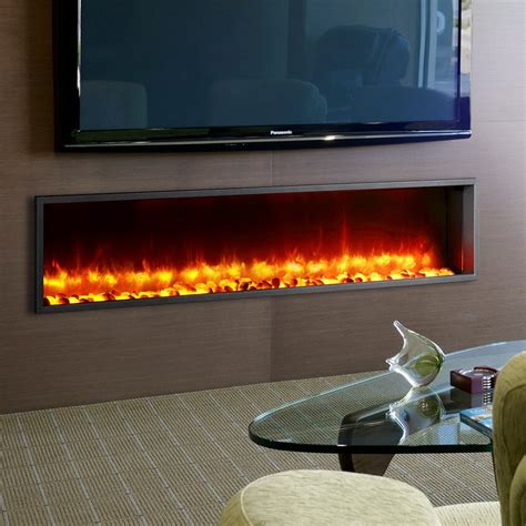 dynasty  built  led wall mount electric fireplace