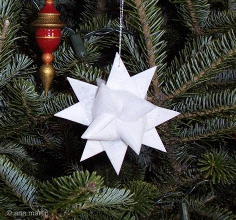 paper folded paper stars