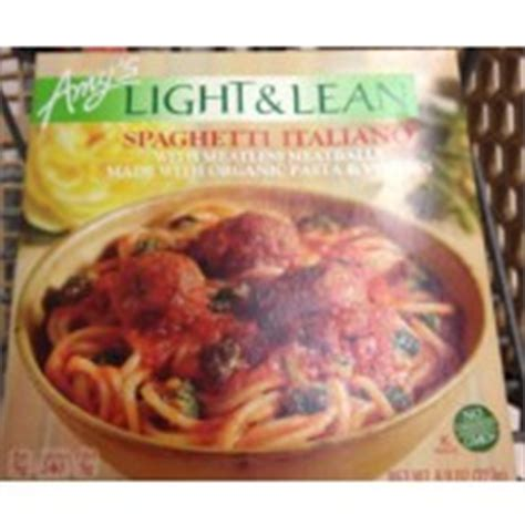 S Light And Lean by S Light And Lean Spaghetti Italiano Calories