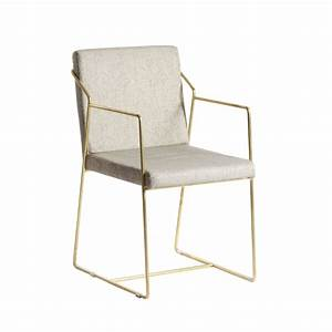 Chaise Design Metal : chaise design m tal dor artdeco drawer ~ Teatrodelosmanantiales.com Idées de Décoration