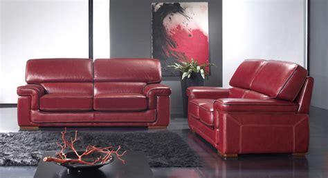 canapé en cuire salon en cuir bordeaux photo 3 10 une couleur un peu