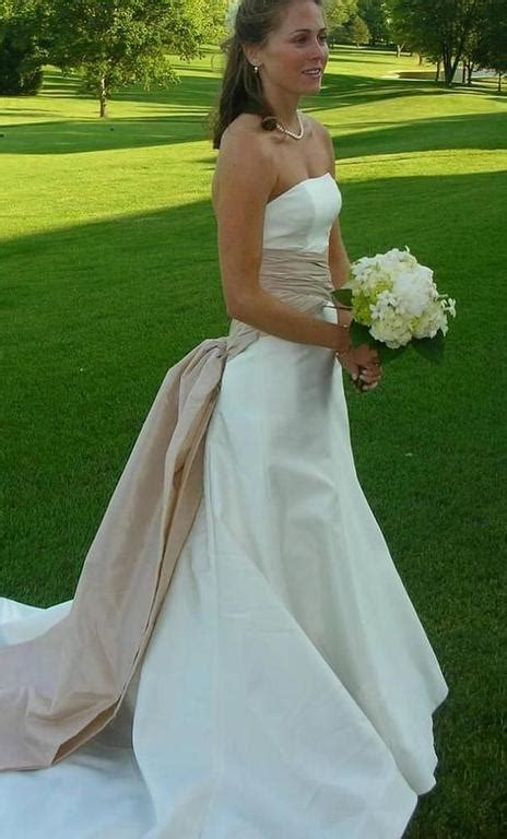 carolina herrera catherine wedding dress  size