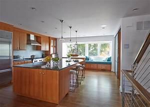 Kitchen Design Trend  Wood Floors