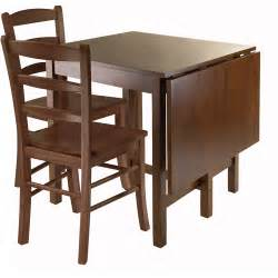winsome lynden 3 piece dining set with drop leaf table