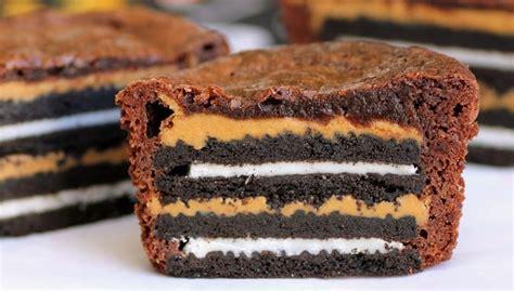recette dessert avec oreo recette de brownies aux biscuits oreo recette g 226 teau facile
