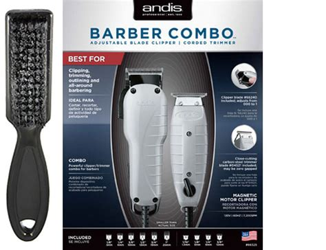 Andis Barber Combo Envy Adjustable Blade Clipper & T