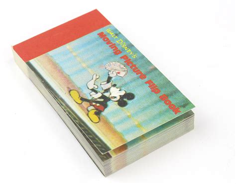 Walt Disney's Moving Picture Flip Book Mickey Mouse