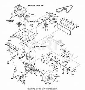 Troy Bilt 34363 Wide Cut 33 U0026quot  Combo Parts Diagram For Drive