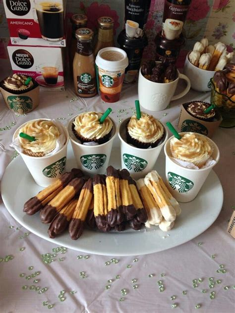 Try our chocolate birthday cake recipe and novelty birthday cakes for kids, plus have a browse through our cake decorating and icing techniques. Starbucks party   Starbucks birthday, Starbucks birthday party, Birthday party for teens