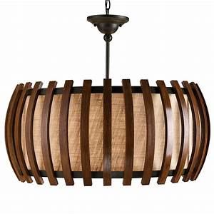 Modern wooden chandeliers with a contemporary design