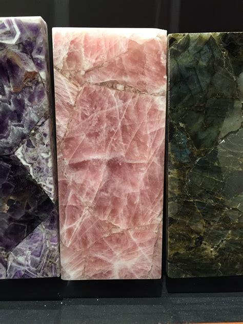 beautiful pink granite quartz countertop  tiffany