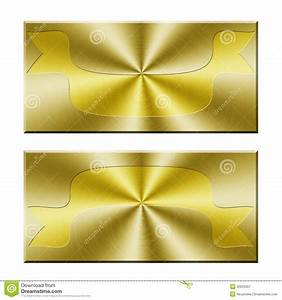 The gallery for --> Gold Blank Banners