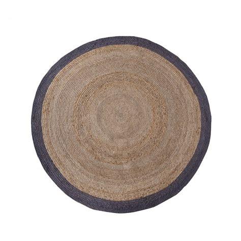 tapis rond diametre 200 tapis rond en chanvre 200 cm ermelo par drawer fr