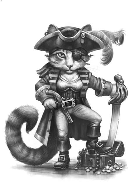 Ali Sparrow - Female Cat Pirate - Critter Kingdoms
