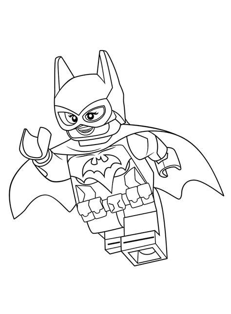 Kleurplaat Batgirl by The Lego Batman Coloring Pages Getcoloringpages