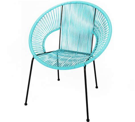 chaise de jardin bleu chaise de jardin ipanema fil bleu turquoise 89 salon d 39 été