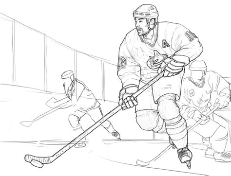 printable hockey coloring pages az coloring pages