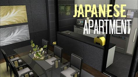 sims  house building japanese apartment youtube