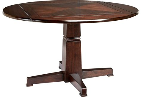 pedestal tables riverdale cherry dining table dining tables wood